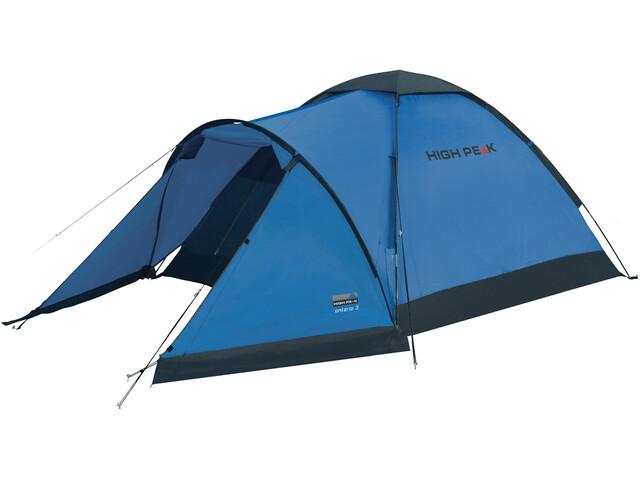 High Peak Ontario 3 Namiot, blue/grey